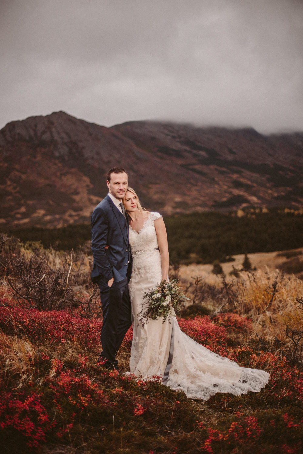 Alaska Destination Wedding Photographer