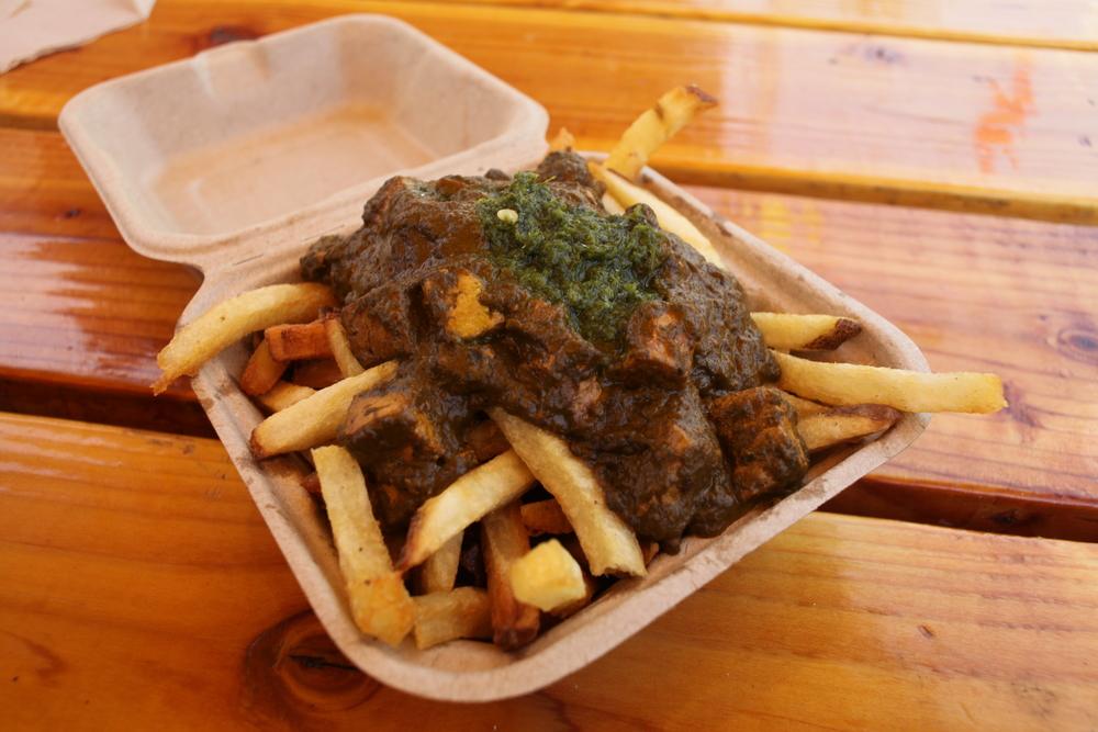 Palak Paneer Fries