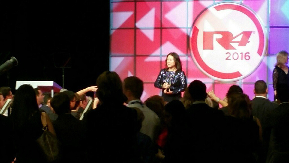 r4 Convention, Erika On Stage