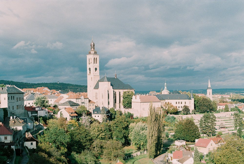 View of Kutná Hora.