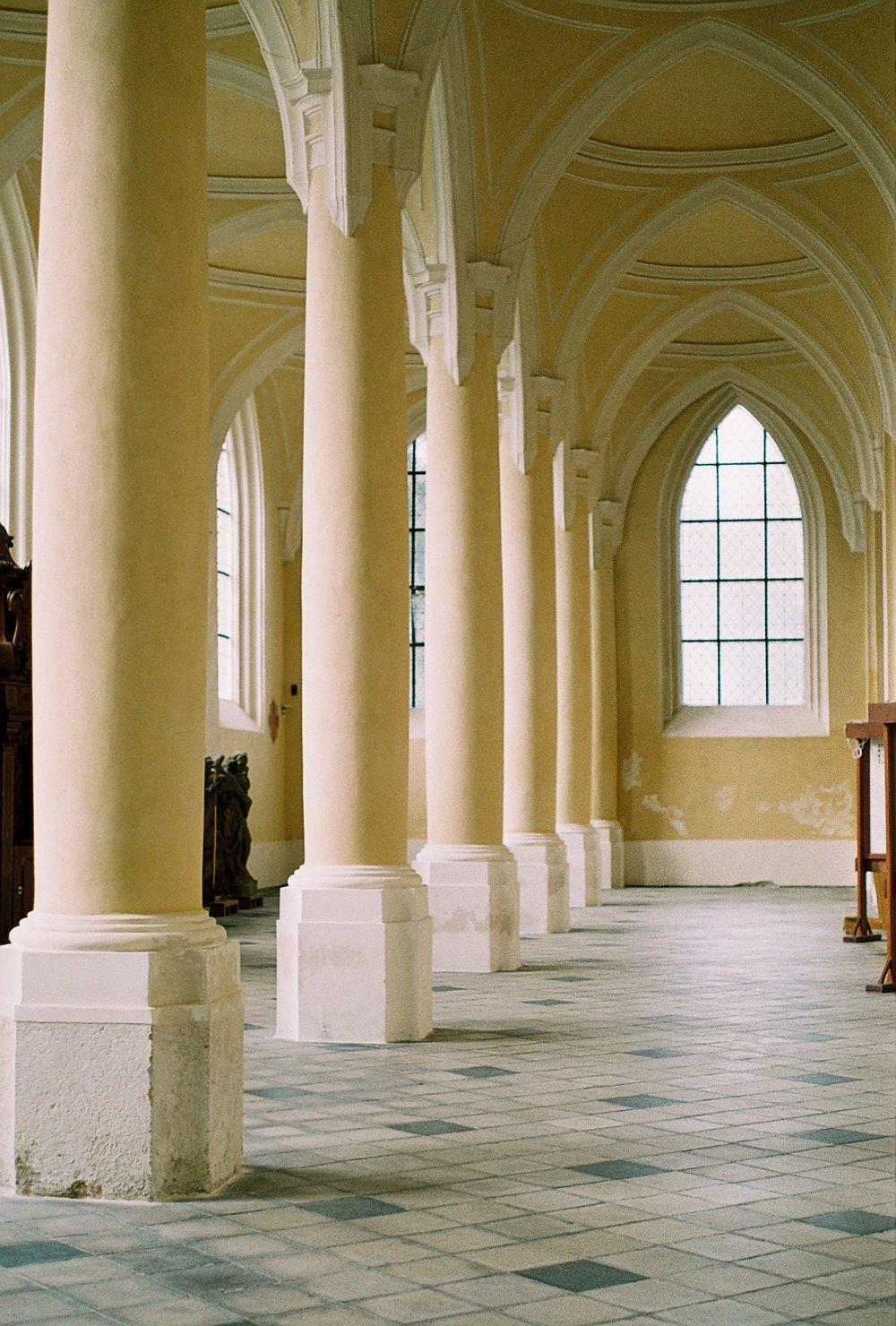 Church of the Assumption in Kutná Hora, Czech Republic.