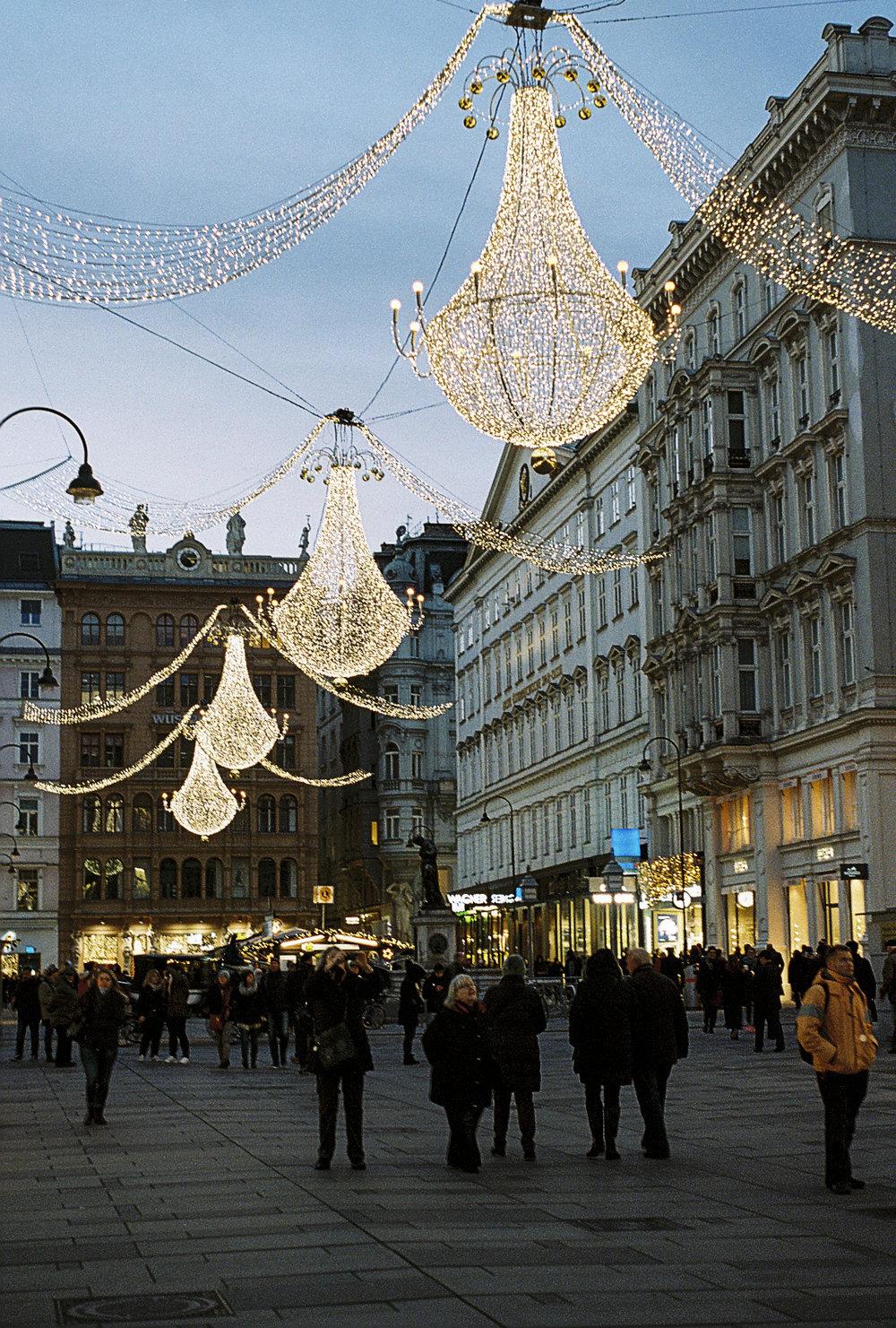 Stephansplatz in Vienna.