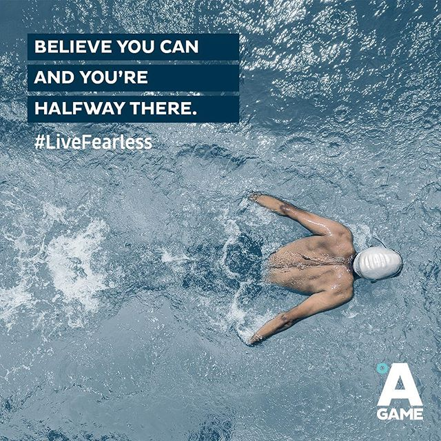 "We've all heard the saying ""what the mind can conceive, the body can achieve"". It all starts in the mind.  Believing you can do something empowers you to actually make it a reality. Start now. #LiveFearless #BringYourAGame"