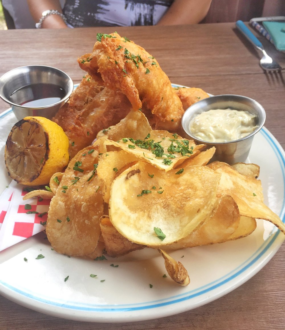 SPECIAL OF THE DAY: FISH AND CHIPS