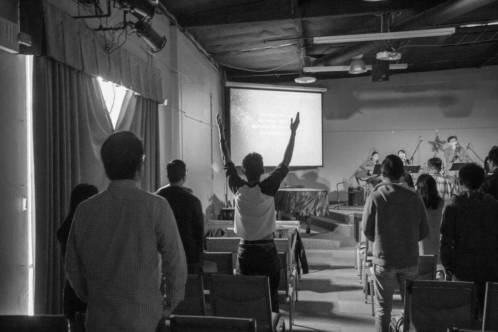 EFCI 1.5 Generation Member Worshipping God