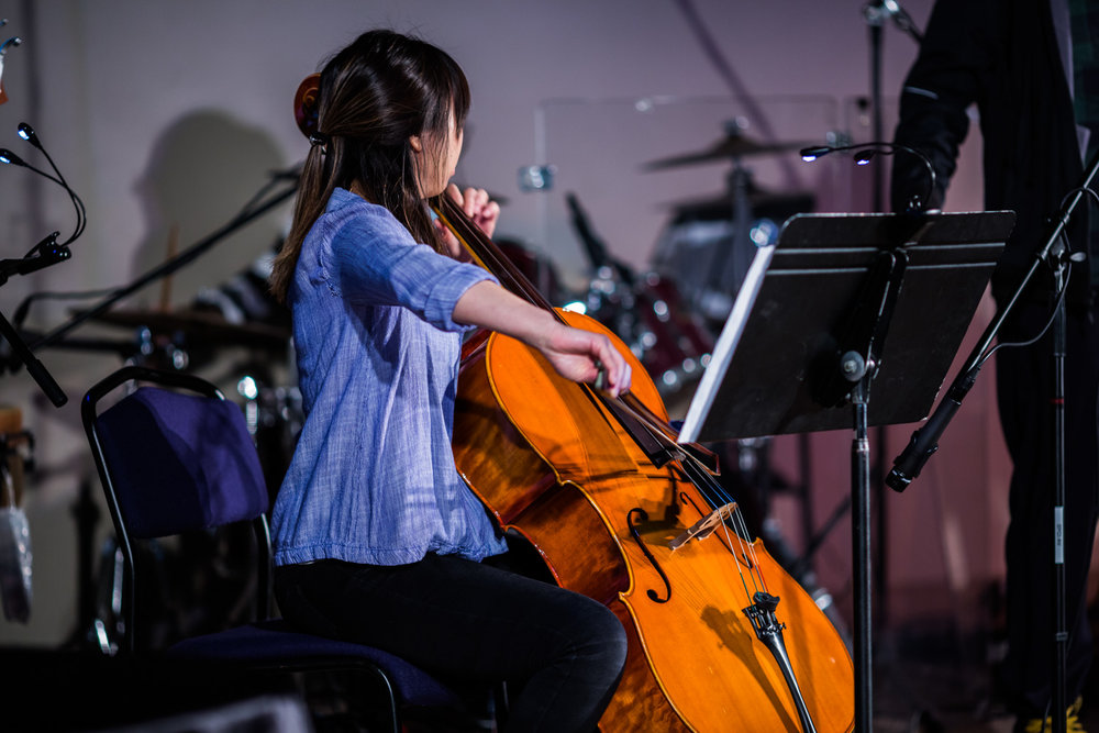 EFCI Member Maggie on the Cello
