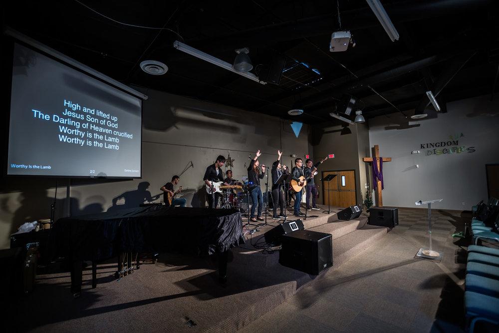 Sunday Worship at EFCI 1.5 Generation Congregation