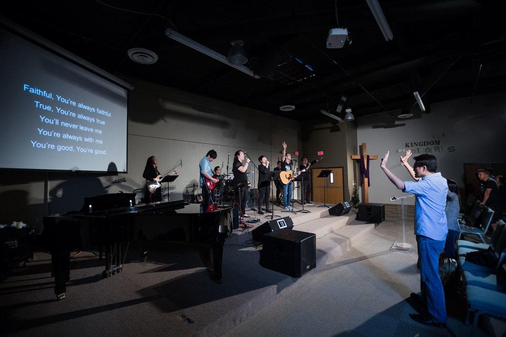 EFCI 1.5 Generation Worship Team