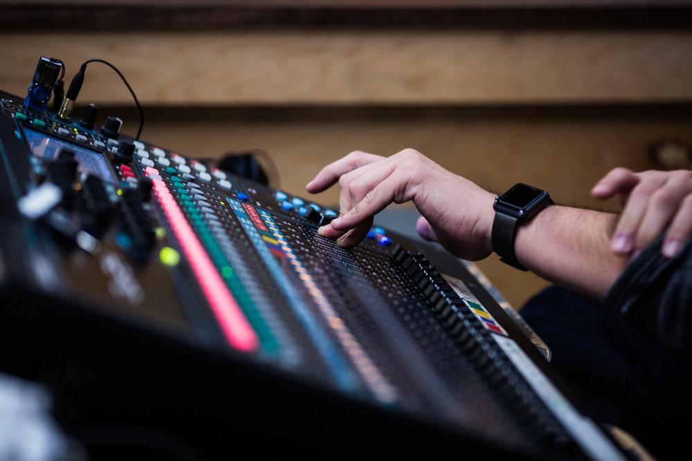 EFCI 1.5 Generation Audio Visuals Team