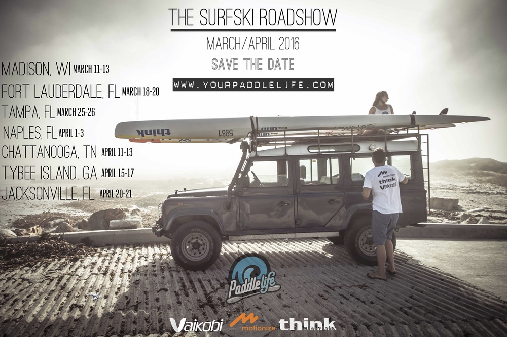 The Surfski Roadshow