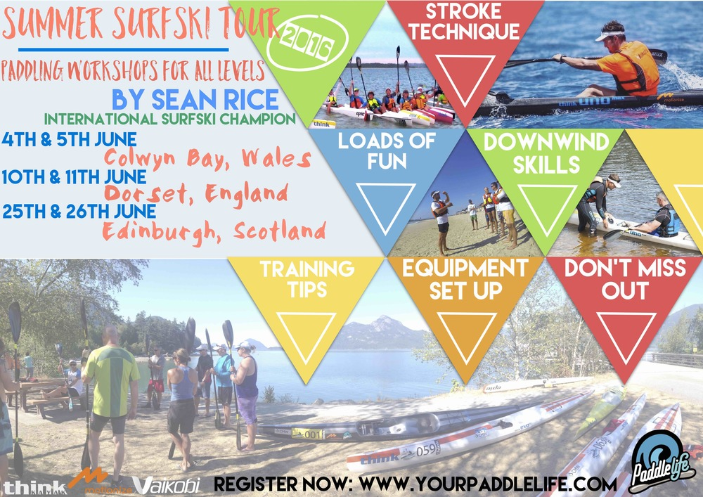 The Summer Surfski Tour