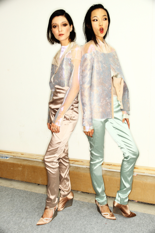 Irina Lazareanu &Xiao Wen Ju