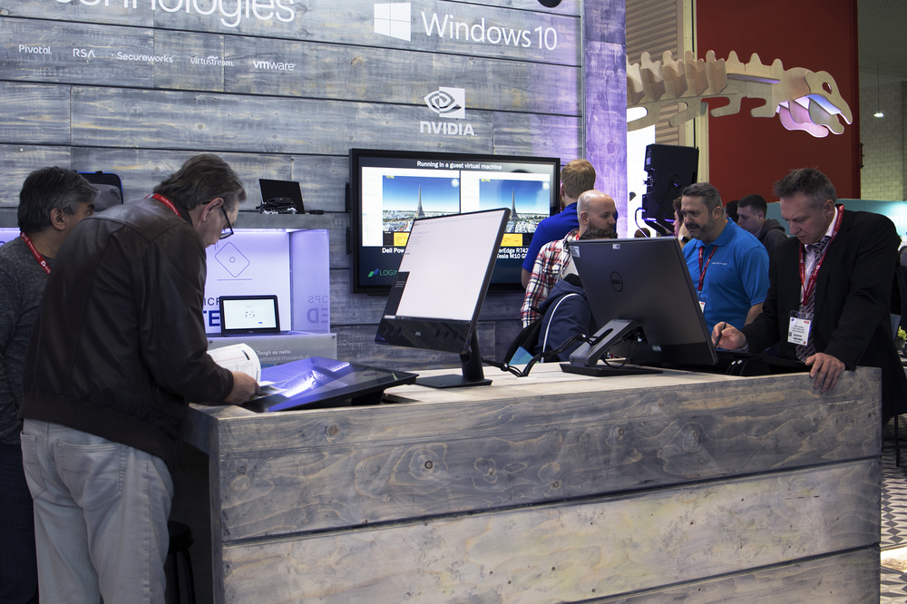 Highlights - · Dell Technologies' first, and largest, EMEA industry show of 2019· OrangeDoor designed and built (most of) a 40ft dinosaur skeleton· Worked in close collaboration with the Natural History Museum