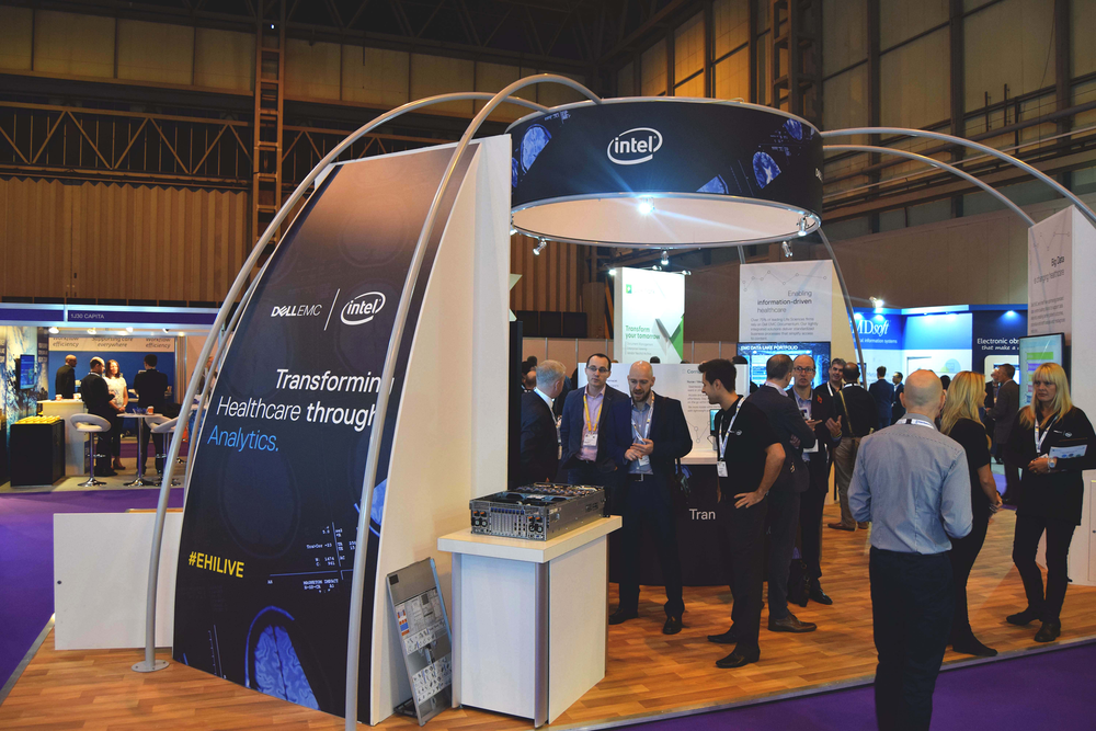 At a Glance - First viewing of the Dell EMC merger with SAP HANA and Cascade 3d influenced the stand's specific layout focusing on the journey of Dell's healthcare specific solutionsThe stand created was not only built to be bespoke but also to be reused and repurposed at events throughout the year.Over 200 sales ready leads obtained, including a highly coveted lead from the Head of Information Governance for NHS UK