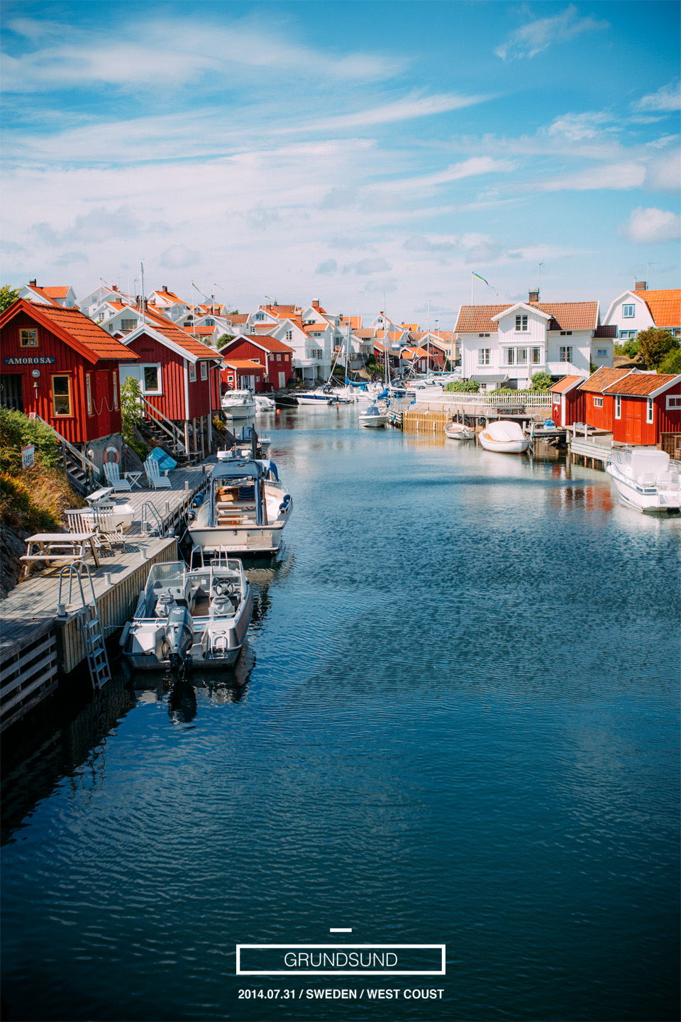 Throwback Thursday: Here is a photo from my vacation taken over the classic view over Grundsund.