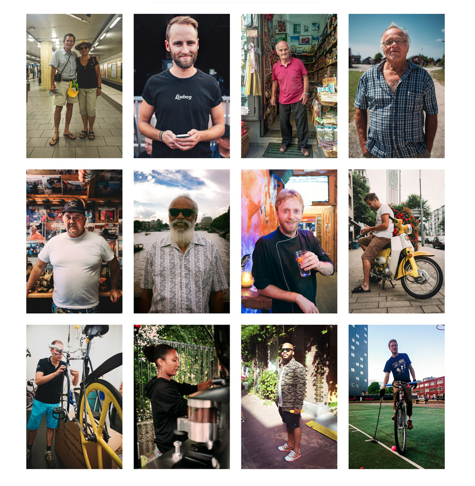 I am not sure if you have seen the project that me, Alex and Sebastian are running. Humans we meet. We take photos of people we meet. Simple as that. Check it out! http://humanswemeet.tumblr.com/ https://www.facebook.com/humanswemeet