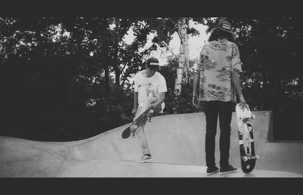 Throwback Thursday. 19 July last year. Lomma skatepark.