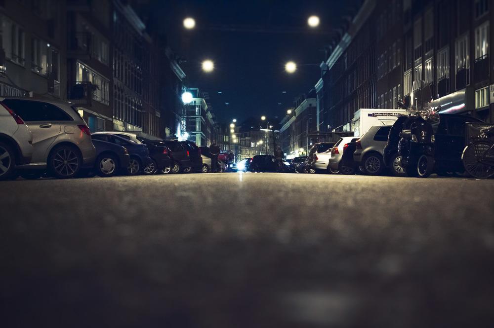 Low street view of the Albert Cuyup.