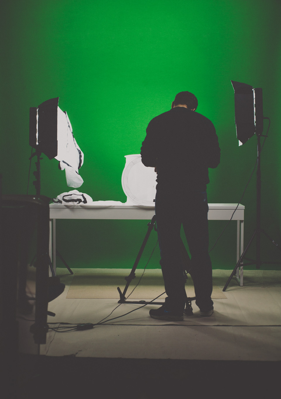 Top secret stuff is going on in that green screen room.