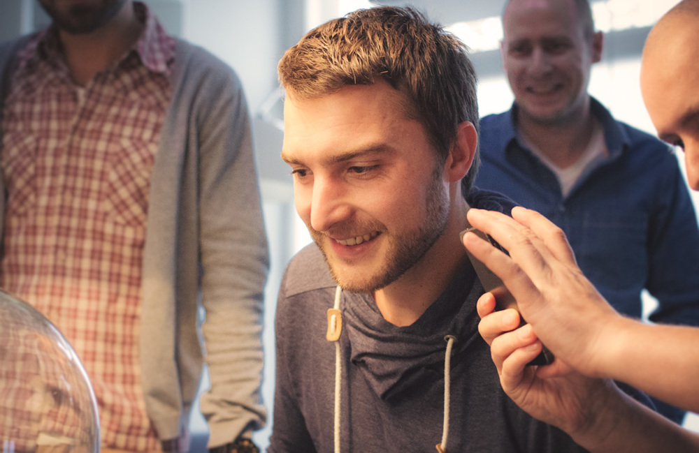 The great motion designer Reinier Flaes has left Onesize… Good luck with your freelance work and see you soon again!