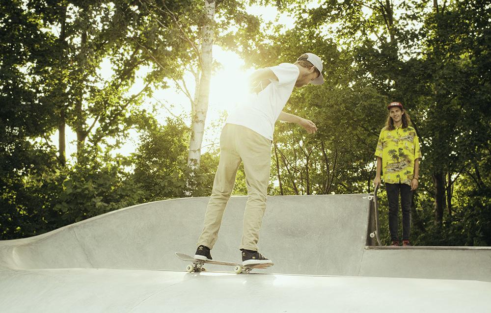 Throw back Thursday: Summer skate in Lomma skatepark.