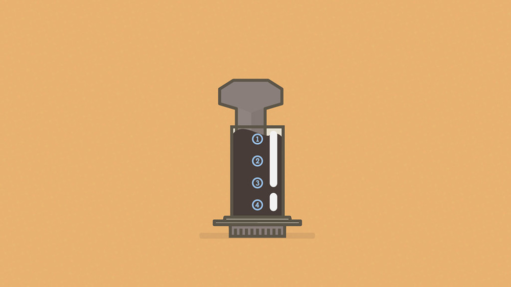 I will try to have a dribbble Wednesday for now on. So that means that I will upload a shot every Wednesday. We will see how that goes. Here is my Aeropress in motion, have a look. http://dribbble.com/shots/1239891–gif-This-is-how-I-make-my-coffee?list=following