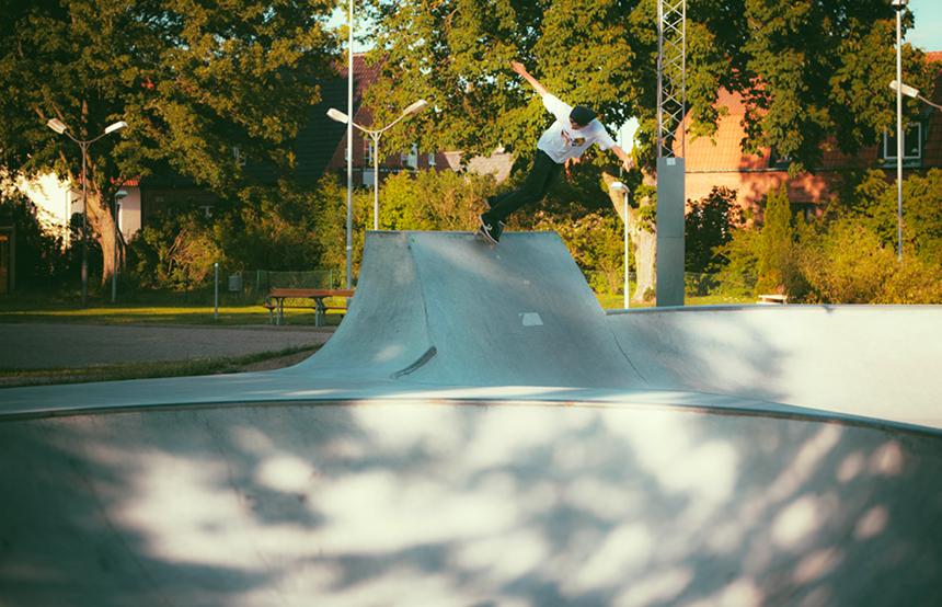 Bs disaster by Fredrik Anonius, Trelleborg skatepark.