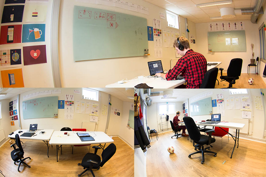 The CLINK office at Hyper Island!