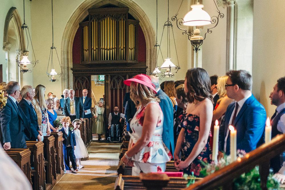 St Giles Church, Coberley   Wedding Photography-45.JPG