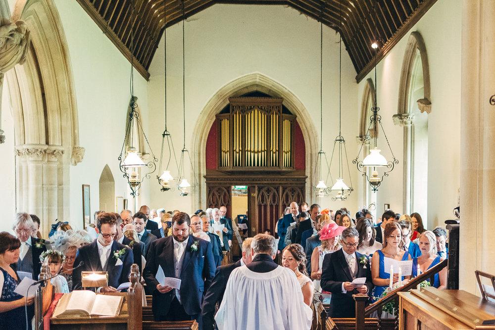 St Giles Church, Coberley   Wedding Photography-51.JPG