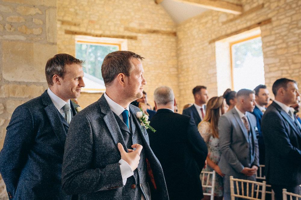 C&M | The Barn at Upcote Wedding Photography -187.JPG
