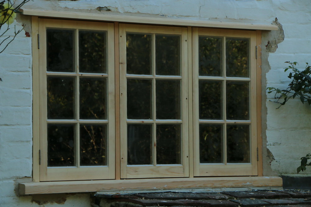 New softwood window