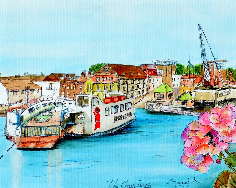The Chain Ferry - Cowes -  BUY NOW