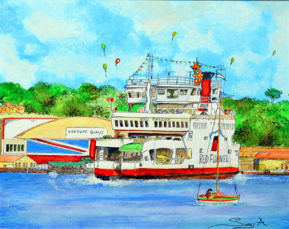 Red Funnel Ferry Days -  BUY NOW