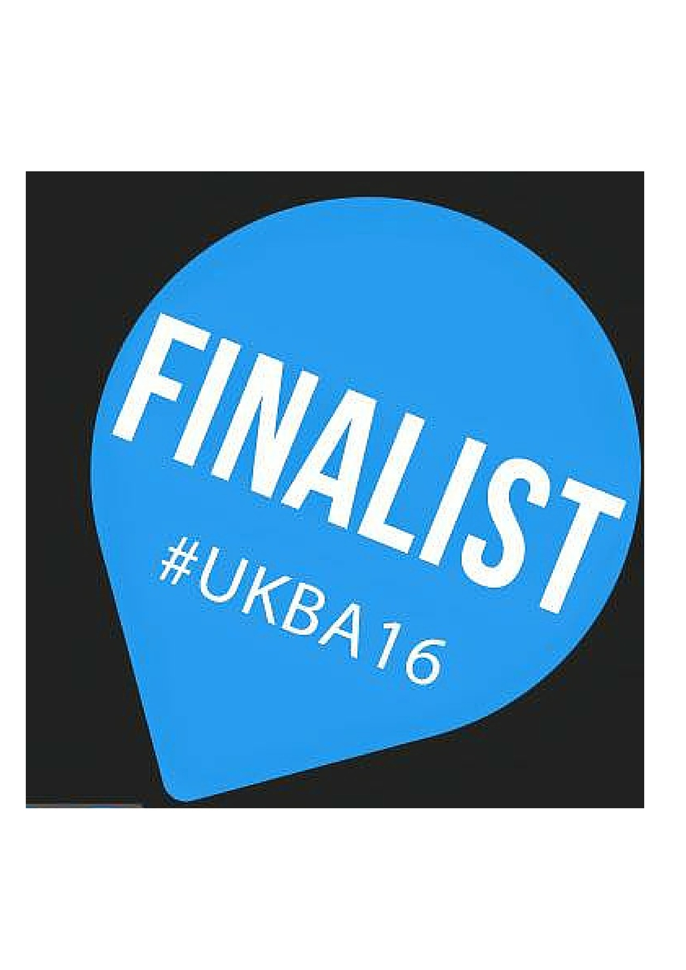 Shortlisted for 'the most innovative' category at The UK Blog Awards 2016