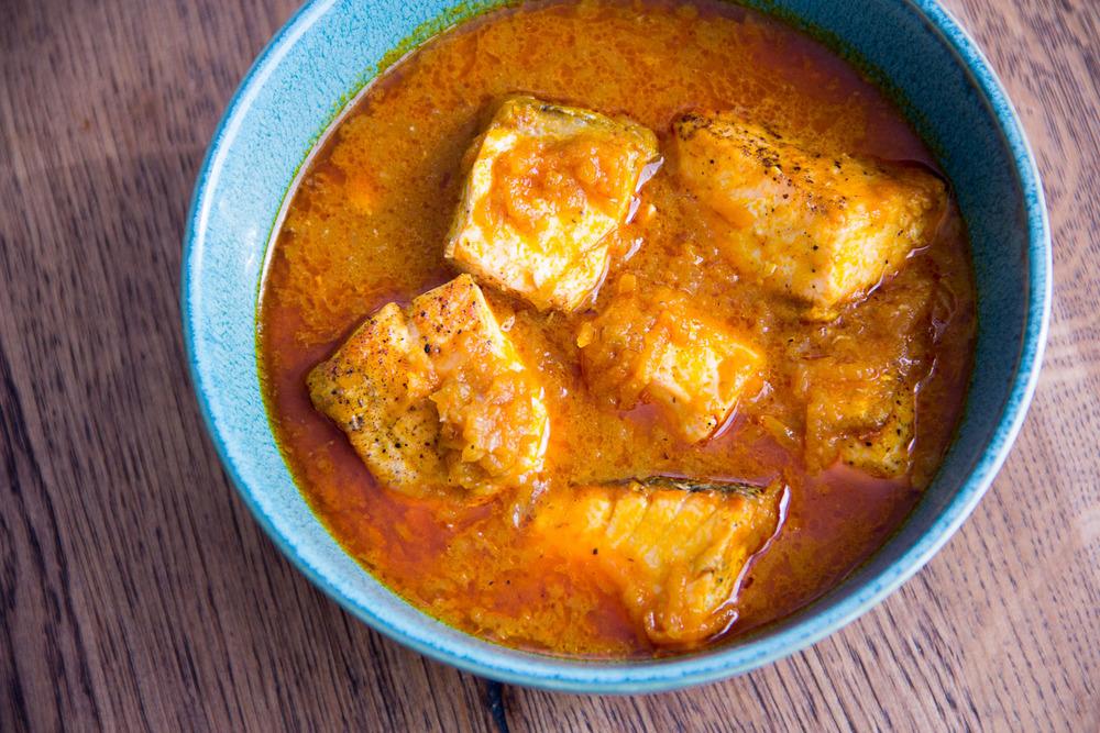 salmon palmnut soup