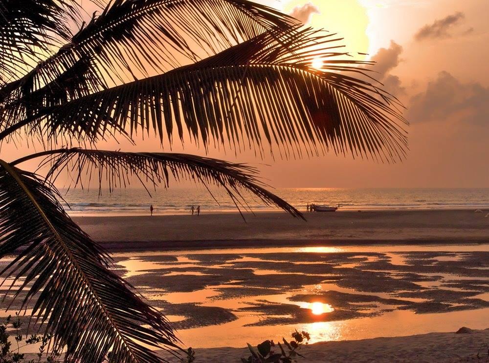 Beautiful Ashwem beach