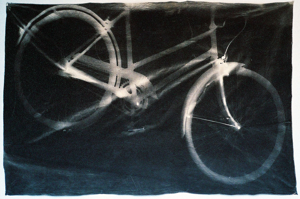 Bicycle  (2004) - Van Dyke brown print - 110cm x 117cm