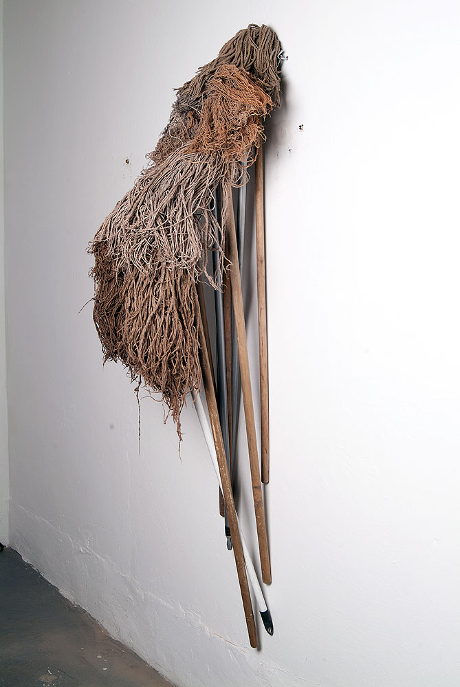 Usha Seejarim, Hairstyles: Heart (2012), Mops,600 x 650 x 150 mm