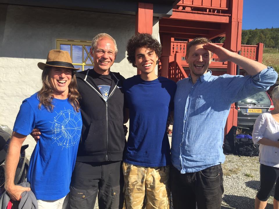 Kaypacha, Gjert, Dylan, and Cato