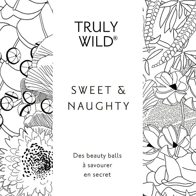 TRULY WILD New packaging coming soon! In collaboration with @tiffanie_delune who has created a wild fantasy jungle for our brand. So fun to finally find someone who is inspired, fun and funky too!  New products coming soon. The beauty balls are created with tonic herbs that support your wellbeing, build your inner power, your beauty and your mental and sexual energy #longevity #wellbeing #detox #handmade #raw #wildherbs #trulywild #beauty #livewell #🔴beautyballs