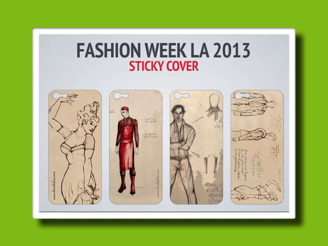 Sticky Cover @LA fashion week 2013<br>-Gadget-<strong>Marketing</strong>