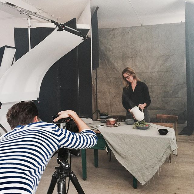Had fun in the studio last week making some food with @mettehelbak for IKEA with a great crew @marcuslawett @martin_nordin @oscarwettersten and @anna_bjorkman #photoshoot #foodstyling #foodphotography #ikeafood