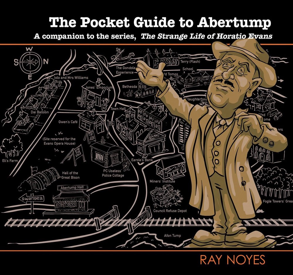 The latest book in the Horatio Evans series is this pocket guide to the town. It also contains descriptions of the characters in the stories and their background stories.