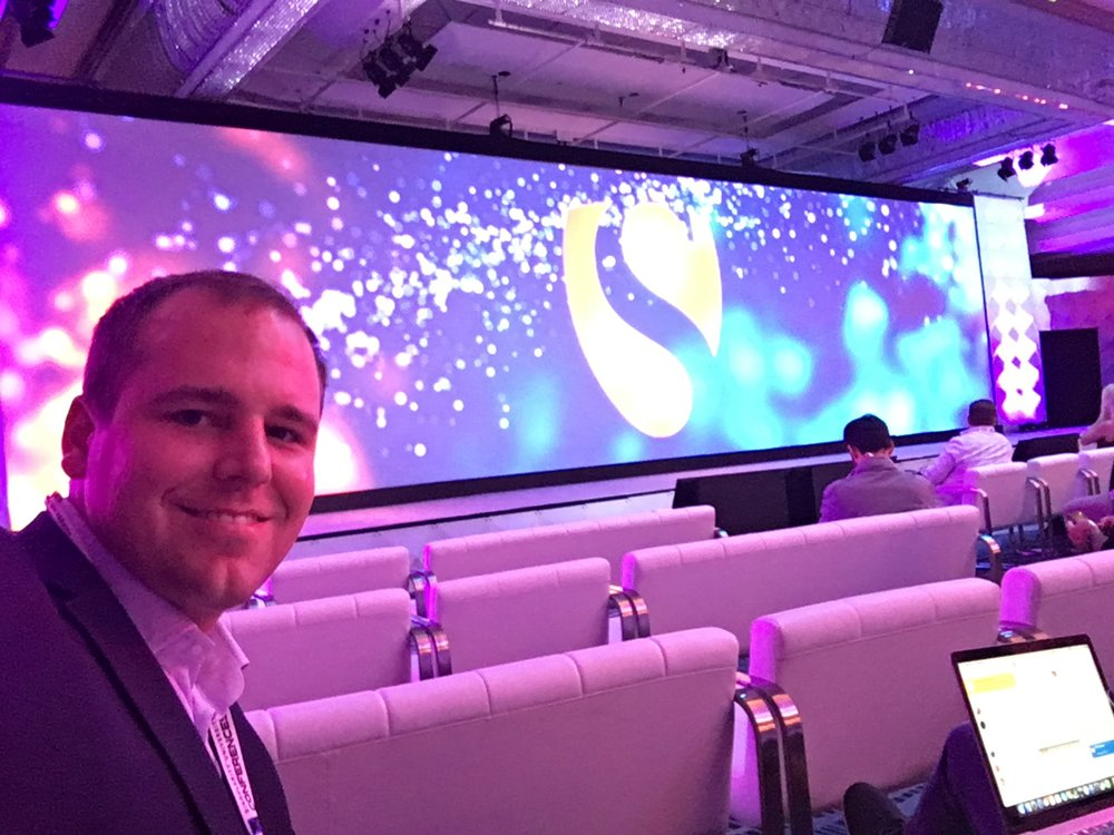 Stuart van der Veen, co-founder and managing director, attends the SU Global Summit.