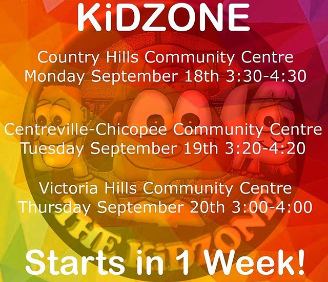 Only ONE WEEK till we're back! #KiDZONEkw