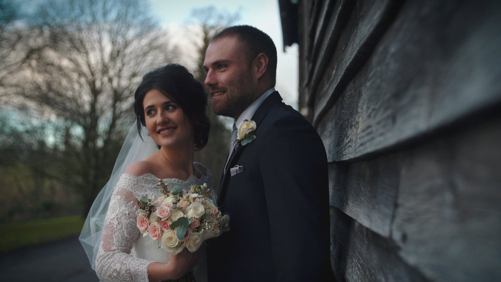 "Rebecca & Joe - ""Thank you SO MUCH for our gorgeous videos!!!!!! They arrived today and we love them so much...The highlights video in particular is absolutely beautiful and we are so pleased we asked you to capture our special day. What a lovely memory to keep. Thank you again!"""