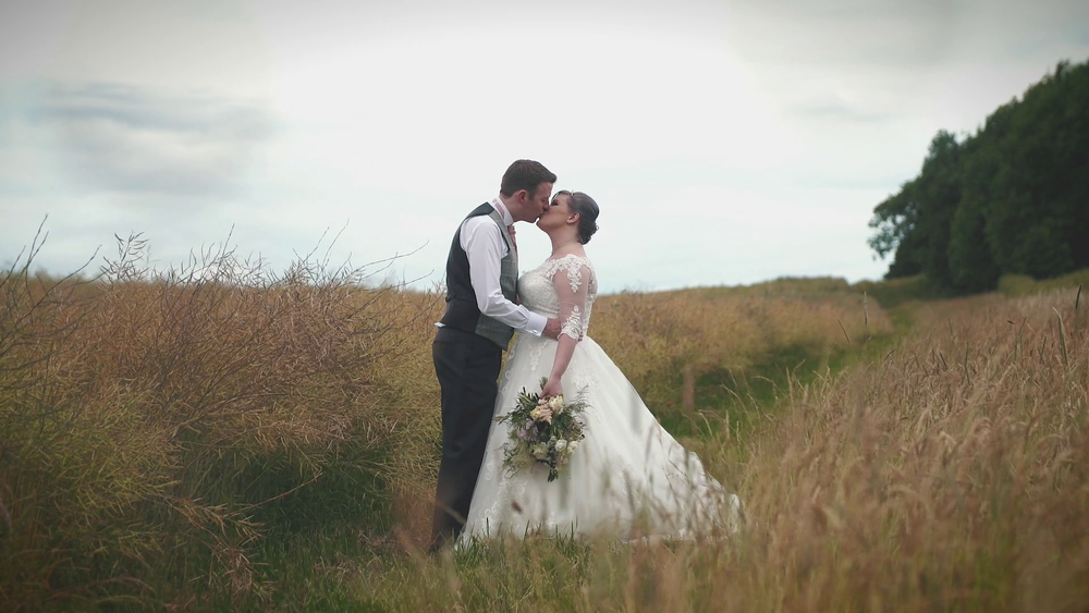 "Faye & Kev - ""WOW!!!! It's absolutely amazing and better than either of us could have dreamt of...Thank you so, so much for capturing our day/memories so perfectly, you've given us something beautiful that we can watch over and over again over the years to remind us of the best day of our lives."""