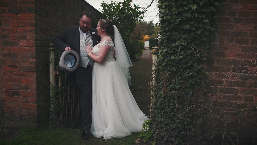 "Hannah & Chris - ""We have just sat and watched our wedding videos and are completely in love with them. They are perfect and capture our day amazingly. Thank you so much for making something so beautiful."""