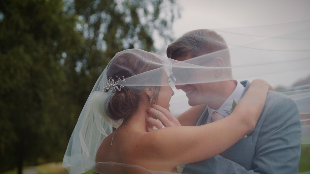 """Leanne & Alan - """"We got our video today and we love it! Thank you so much for capturing our special day."""""""
